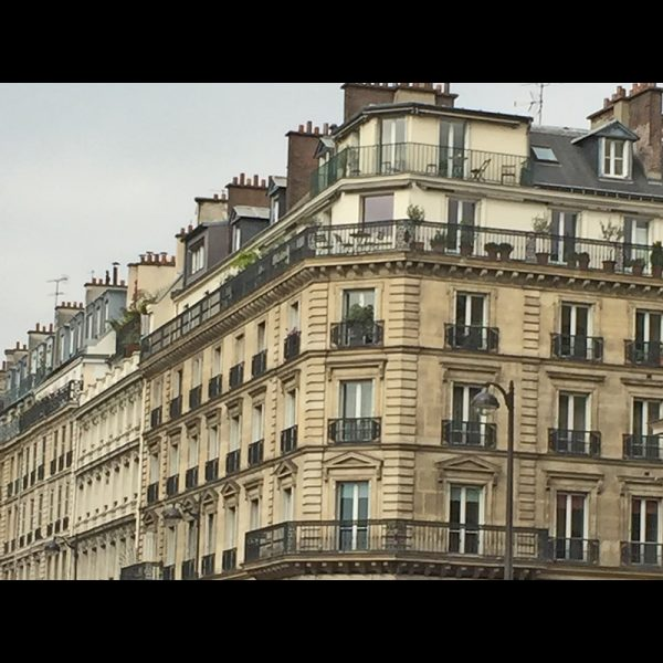 Typical Paris Architecture