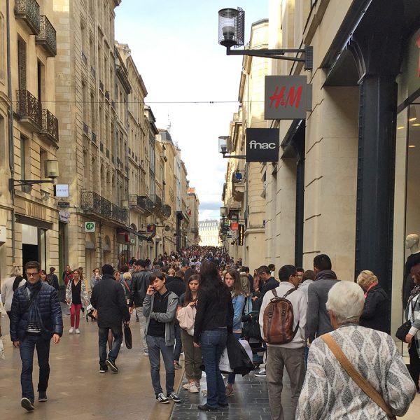 Rue de Catherine in Bordeaux