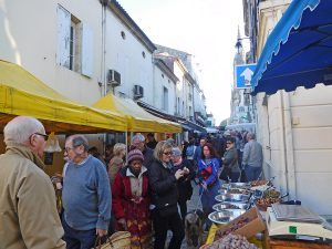 Cadillac Market on a Bordeaux Wine Cruise