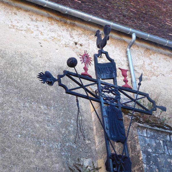 Artistic Cross at the Cadillac Church