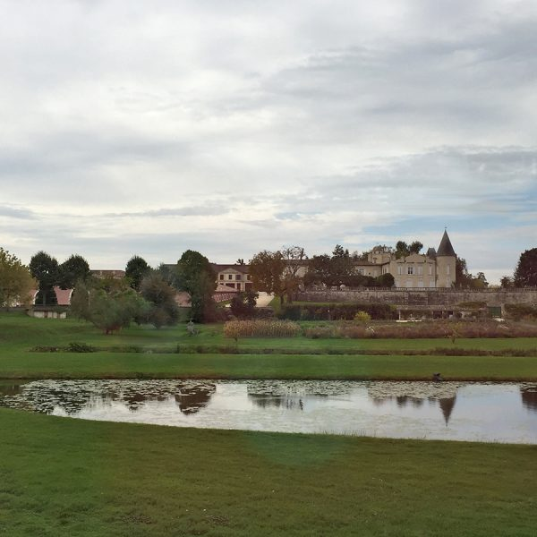Baron von Rothschild estate in Pauillac
