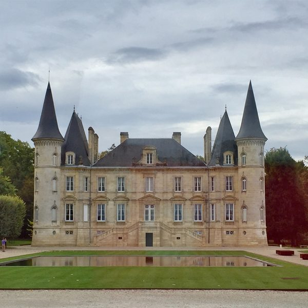One of the many chateaux in Pauillac