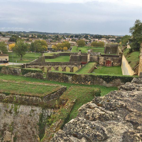 Ruins at the Blaye Citadel