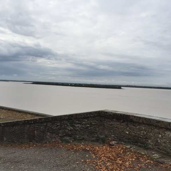 View of the river from the Blaye Citadel