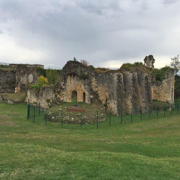 Blaye Citadel castle ruins
