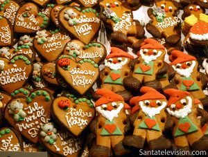 Gingerbread Christmas Market Nuremberg, Germany