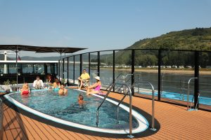 You won't be bored on your cruise when you can meet up friends and family at the sun deck pool