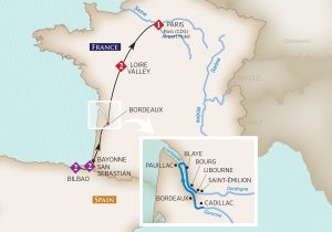 Tasete of Bordeaux Itinerary