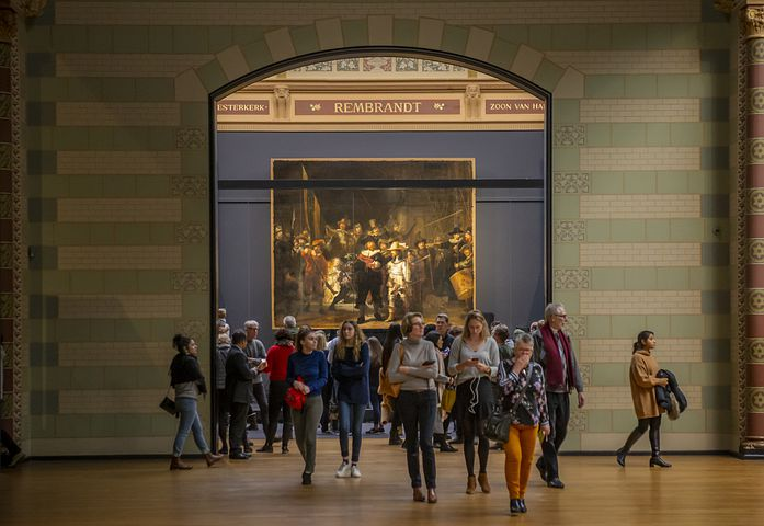 A chance on your Tulip Time Cruise to see the famous painting The Night Watch