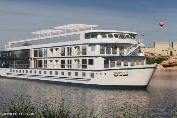 Enjoy a Luxury River Cruise on the New AMA Dahlia